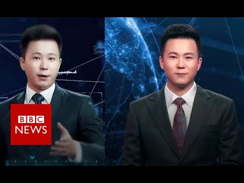 Which of these newsreaders isn't real? - BBC News