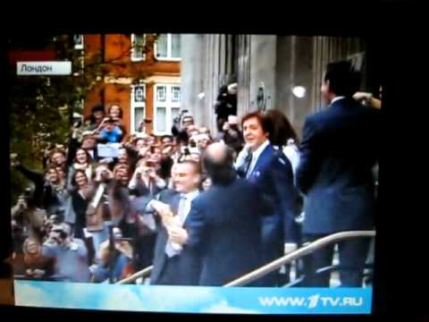 Sir Paul McCartney in the third time married mp3