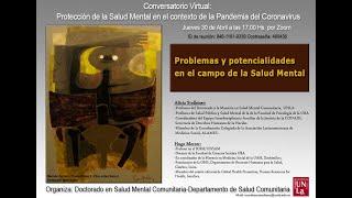4° Conversatorio Virtual: Protección De La Sm En El Contexto Del La Pandemia Del Coronavirus