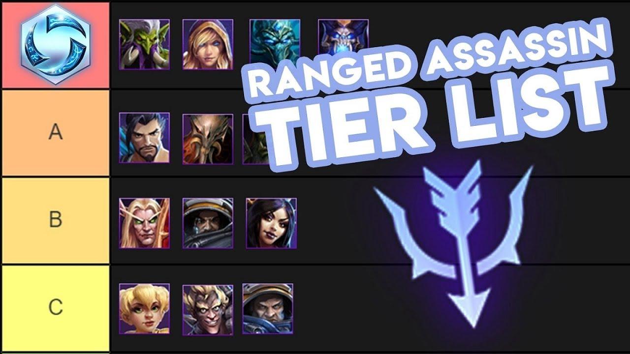Overwatch Tier List 2020.Heroes Of The Storm Ranged Assassin Tier List Parody