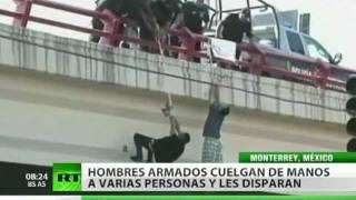 Joven mexicano colgado de un puente sobrevivió torturas y balazos