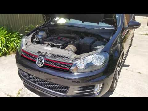 Golf GTI Mk6 startup engine test