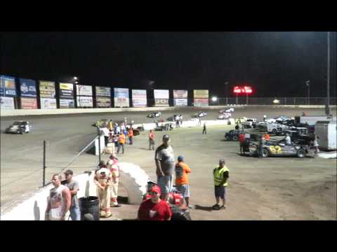 I 55 Raceway 8 15 2015 A Mod Feature #34 Dave Armstrong