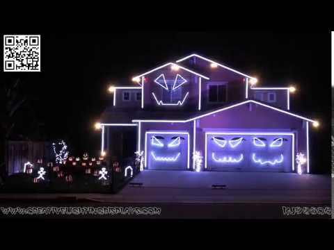 Halloween Light Show 2014   Jump Around House of Pain   Yo