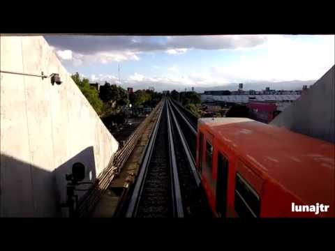 Metro línea 4 Jamaica México D.F.