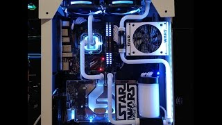 Custom Water Cooled Gaming PC Build: Star Wars - Stormtrooper