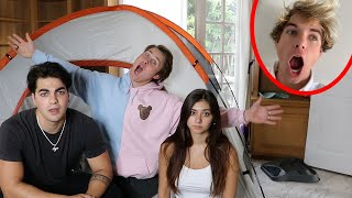 CAMPING IN BEST FRIENDS ROOM EP. 3