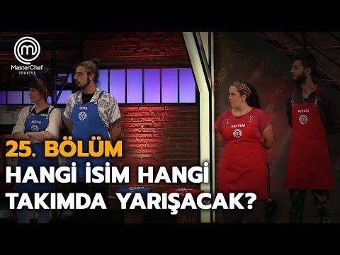 Takım Kaptanları Ekipleri Kurdu! | 25. Bölüm | MasterChef Türkiye