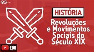 história no enem revoluções e movimentos sociais do século xix a emergência do proletariado