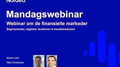 Nordea Markets Mandagswebinar – 27. april, 2020