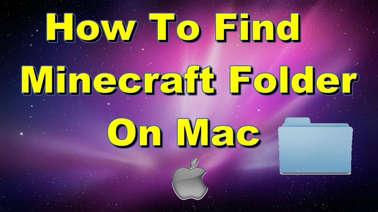 How To Find Minecraft Folder On Mac, If It Isn't Just In Library  Youtube