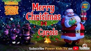 Dschungelbuch Singen Weihnachtslieder | Fröhliche Weihnachten | Weihnachten Animierte Carol | Power Kids