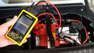Autool BT-460 car battery and charge tester