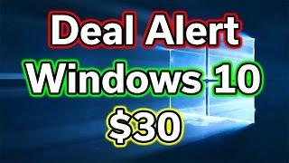 Windows 10 Pro - $30