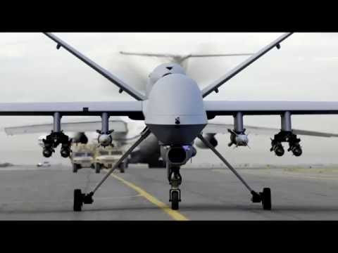Us Predator Drone In Action