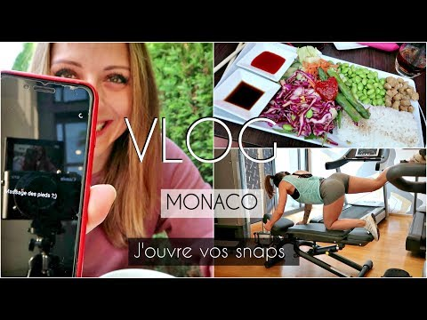 REAL #14 : MONACO I J'OUVRE VOS SNAPS I BOOTY TRAINING