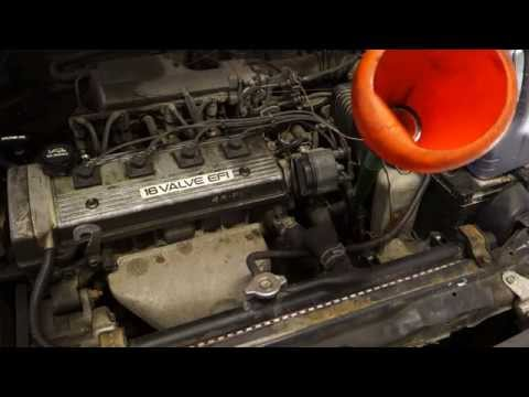 How to replace automatic transmission fluid oil Toyota Corolla years 2000 to 2008
