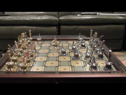 How to Play Chess (Harry Potter Chess Board)