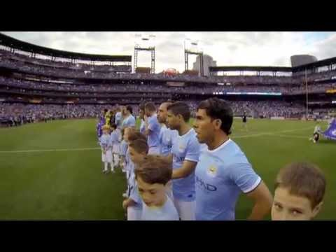 GoPro +On+The+Pitch+With+Manchester+City+FC
