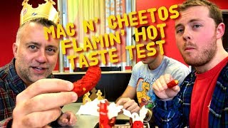 Burger King Mac N' Cheetos Flamin' Hot Taste Test