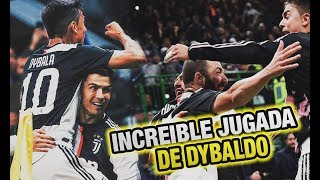 Gambar cover La Juve de CR7 Recupera el LIDERATO (Goles de Dybala e Higuain) - Inter vs Juventus 1-2