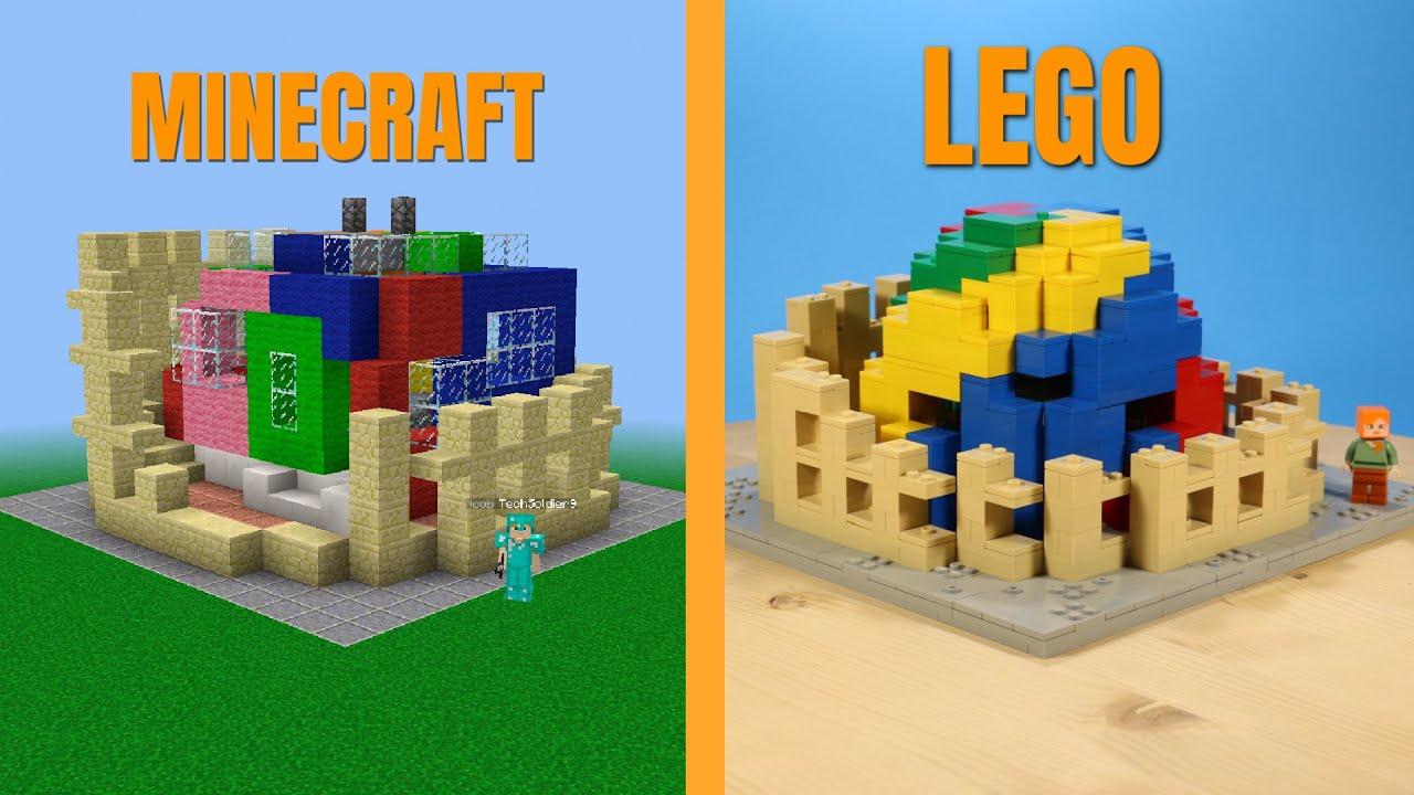MINECRAFT, made in LEGO