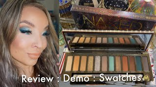 Urban Decay Naked Wild West Eyeshadow Palette : Review : Demo : Swatches