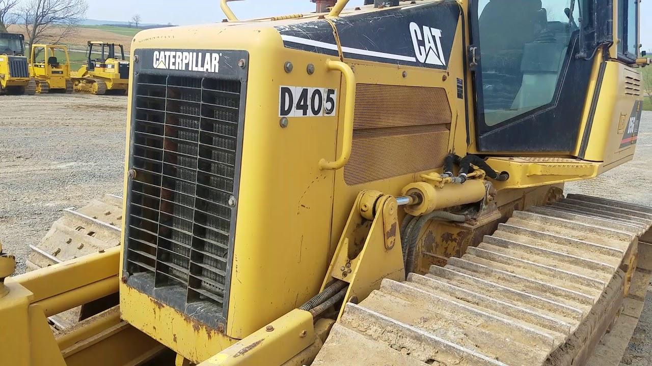 Cat D5g xl Dozer manual