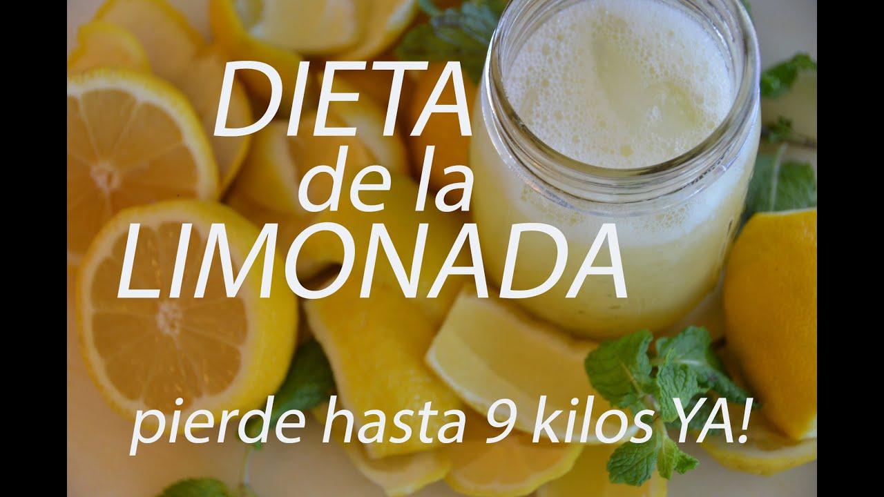 La dieta de la limonada funciona