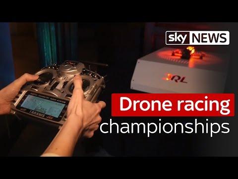 Swipe: Drone Racing League championship coming to London
