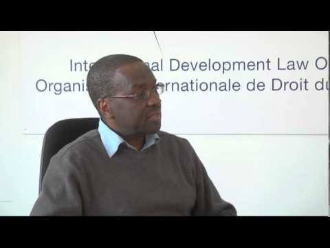 IDLO Interview with Dr. Willy Mutunga