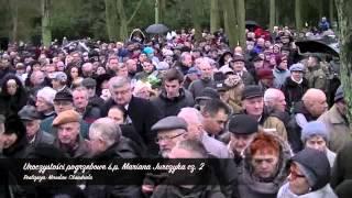 Uroczystości pogrzebowe ś p  Mariana Jurczyka cz 2