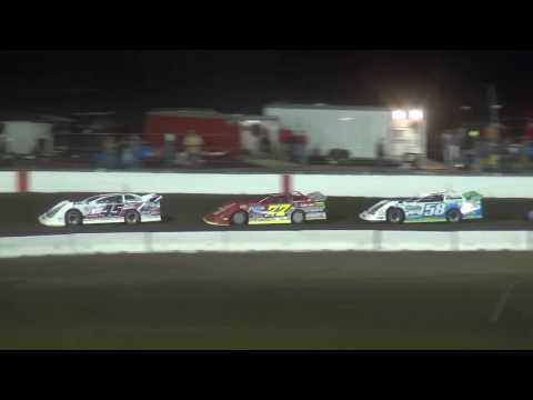 IMCA Derry Brothers Late Model Heat 4 Farley Speedway 4/21/17