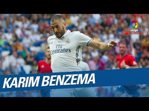 Karim Benzema's Best Goals LaLiga Santander 2016/2017