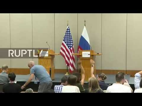 LIVE: Lavrov gives statement after meeting with Kerry - ENGLISH