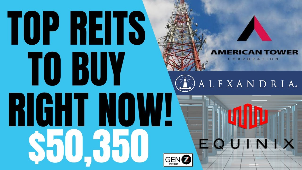 Best Reits To Buy Now Real Estate Stocks To Buy Now Youtube