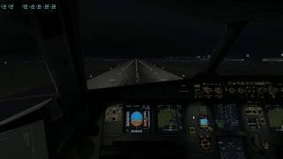 KIAH ILS-33R A320