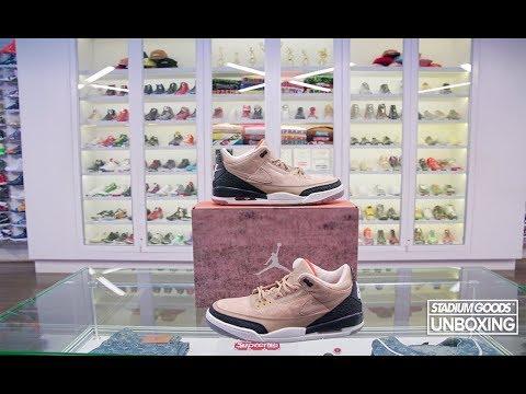 sale retailer 3544a 4b0a2 UNBOXING: Justin Timberlake x Air Jordan 3