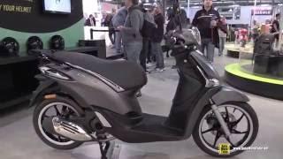 2016 Piaggio Liberty S Scooter - Walkaround - 2015 EICMA Milan