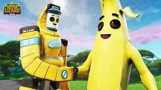 PEELY MEETS HIS BROTHER FOR THE FIRST TIME - Fortnite Season X