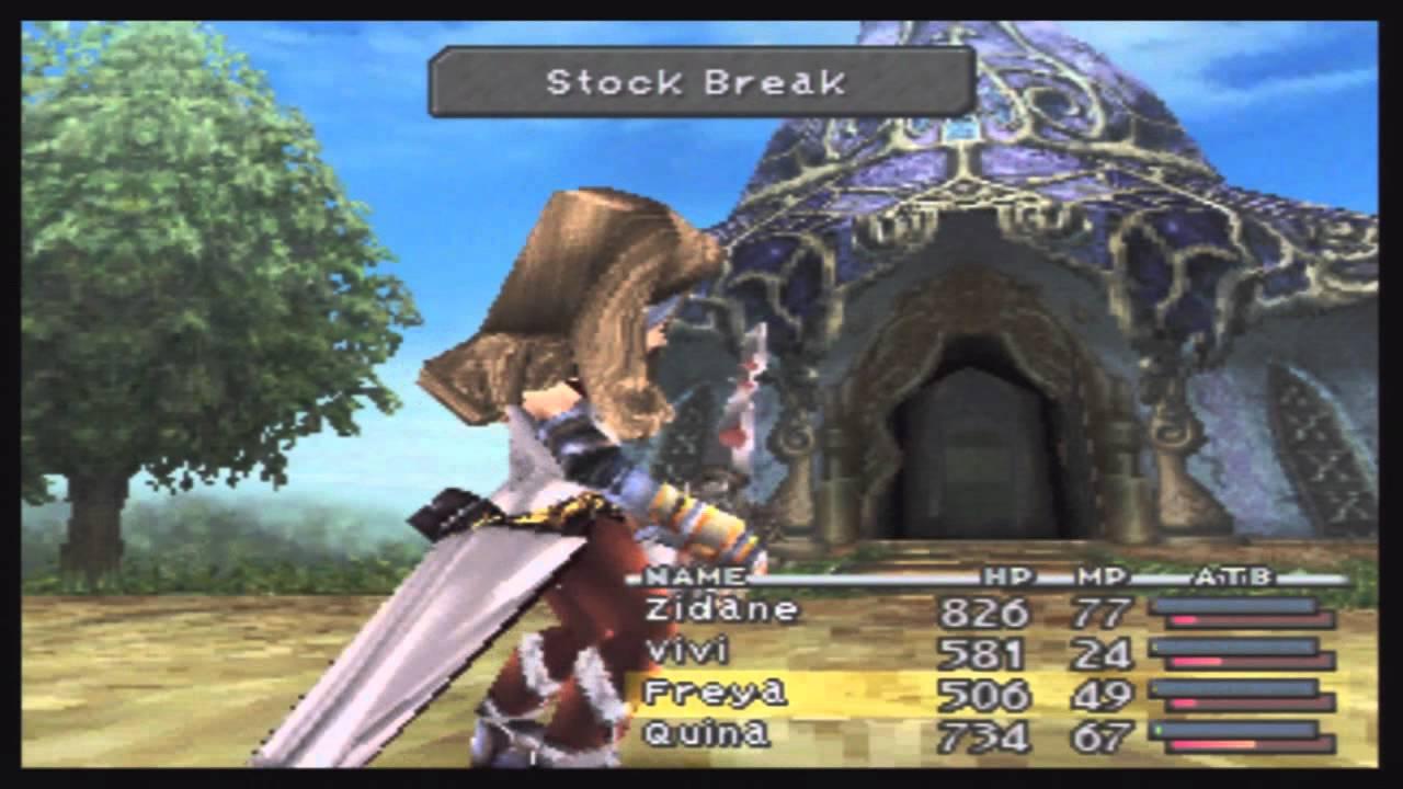 Final Fantasy Ix Beatrix Destruction Of Cleyra Boss Scenes