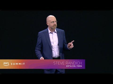 AWS Global Summit New York 2019 Keynote – Steve Randich, FINRA