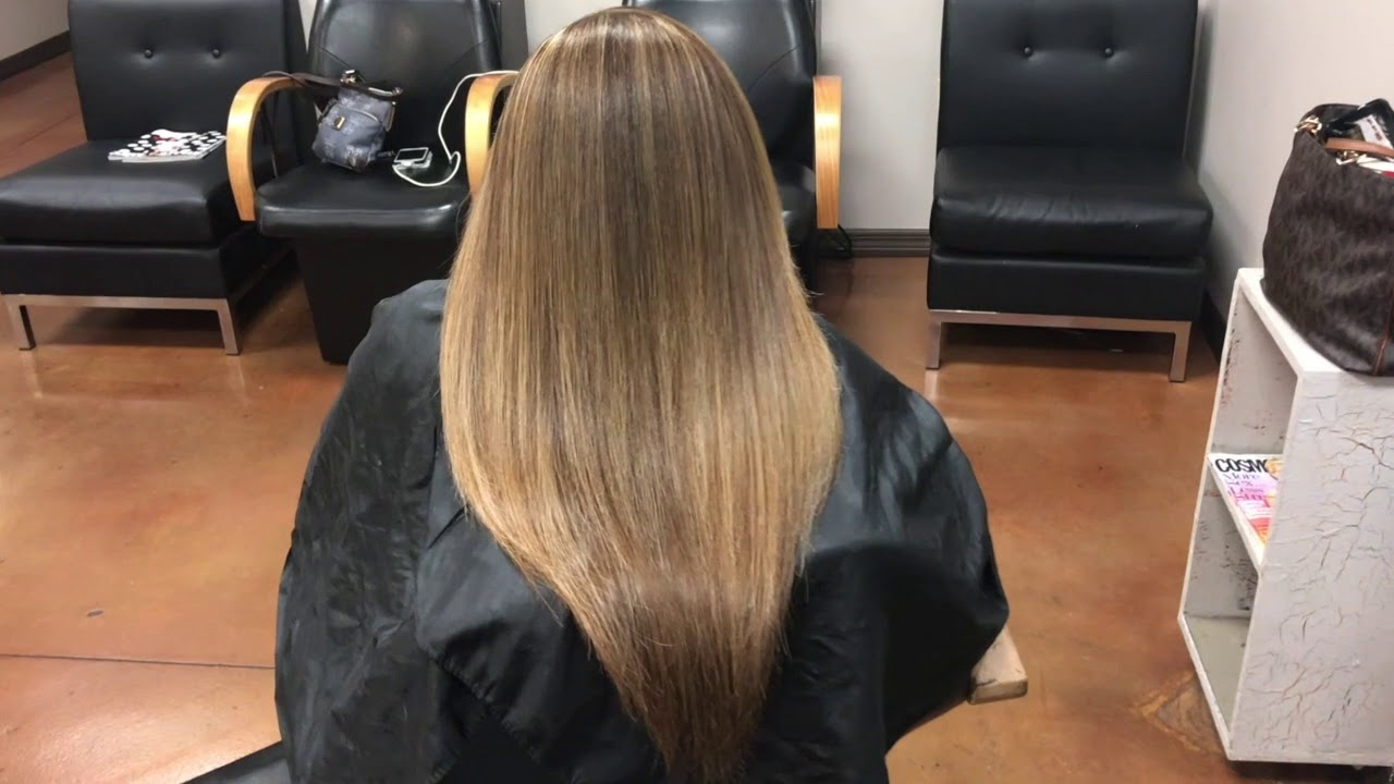 Partial Highlights To Blend Dark Roots Youtube