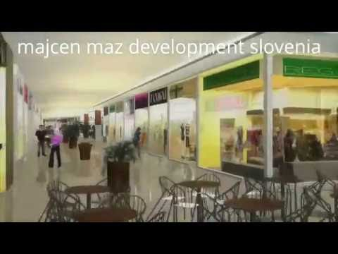 MAJCEN MAZ DEVELOPMENT SLOVENIA | SANDA-JASNINA SHOPPING MALL AND BUSINESS CENTER LJUBLJANA SLOVENIA