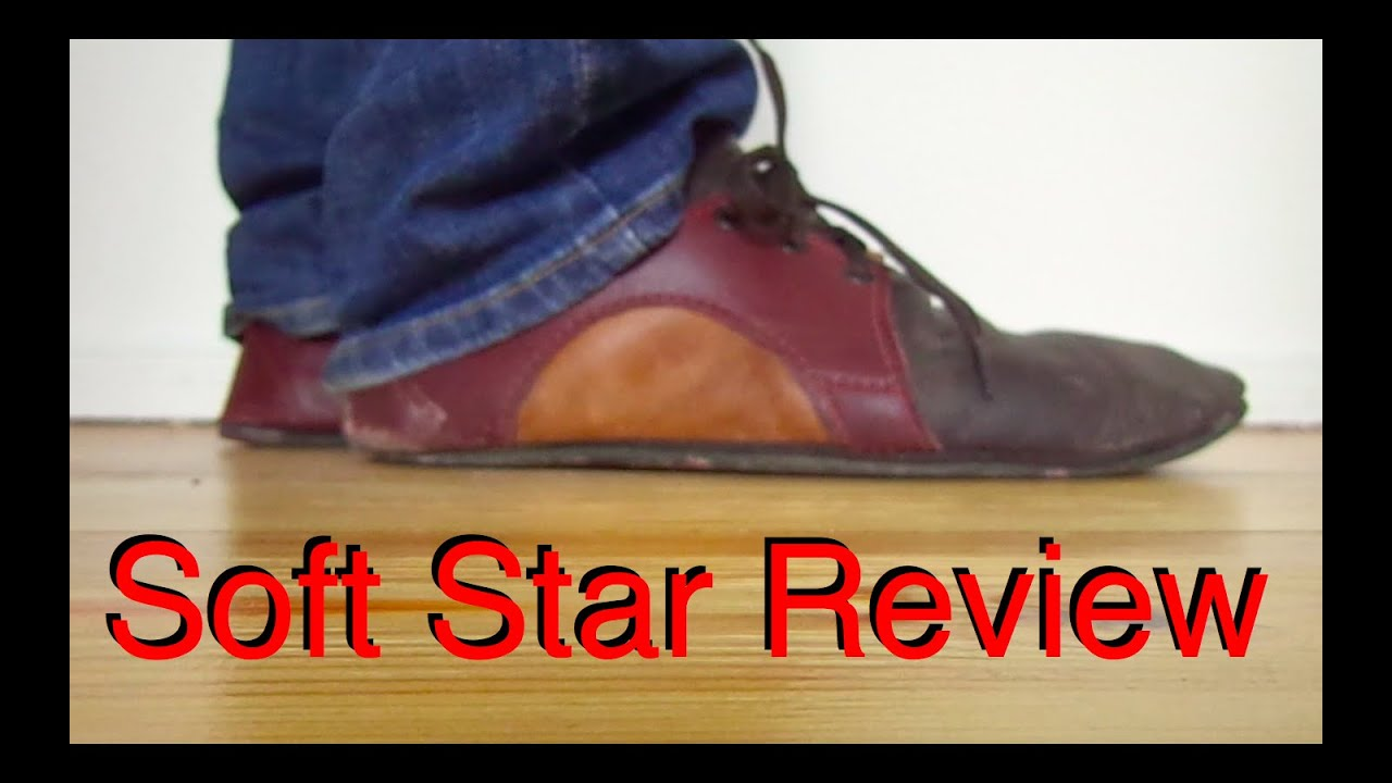f62be3d6b07 Soft Star RunAmoc Dash with Bullhide Sole review - YouTube