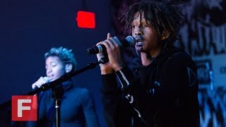 Willow and Jaden Smith,