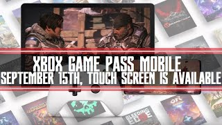 Xbox Game Pass Mobile Goes Liv…