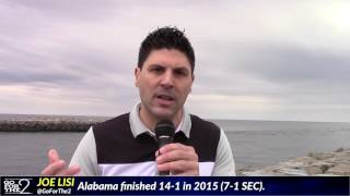 joe lisi breaking down usc vs alabama week 1 2016