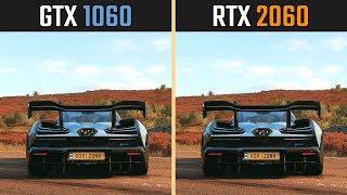 RTX 2060 vs. GTX 1060 (Test in 8 Games)
