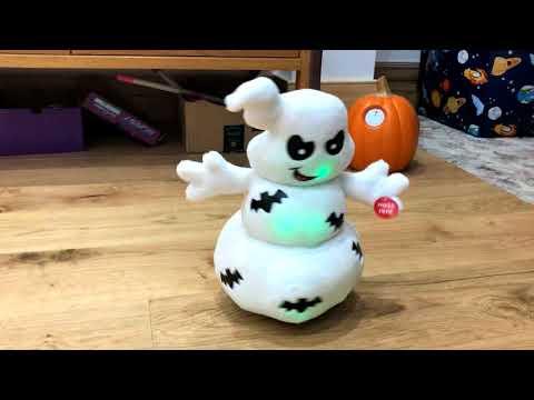 Singing Halloween Toy Ghost